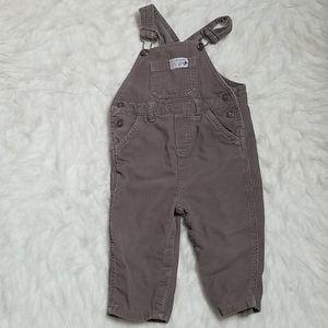 Carter's 18 month boy cotton corduroy overalls